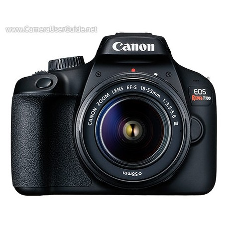 Cámara digital canon rebel T100 kit 18mp