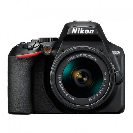 Cámara digital Nikon D3500 kit lente 18-55