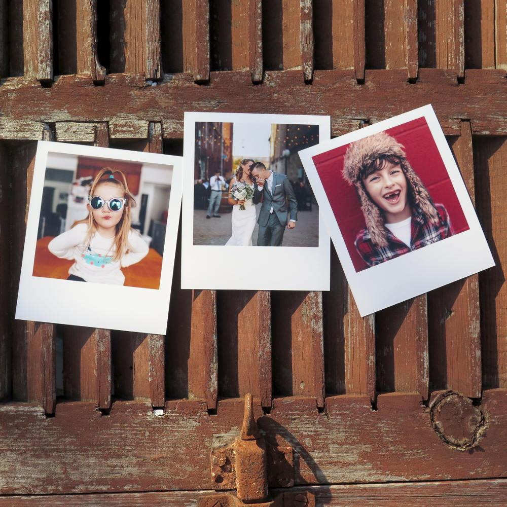 Foto tipo polaroid